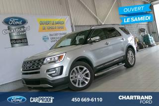 Used 2017 Ford Explorer 4 RM, 4 portes, Limited for sale in Laval, QC