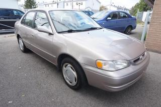 Used 1998 Toyota Corolla 4DR SDN for sale in Mascouche, QC