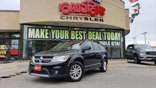 Used 2017 Dodge Journey SXT AWD $79.00 +HST WEEKLY FOR 84MTHS REAR CAM for sale in Toronto, ON