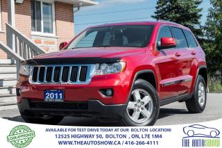 Used 2011 Jeep Grand Cherokee 3.6L V6 4X4 1 OWNER CERTIFIED NEW TIRES & BRAKES for sale in Bolton, ON