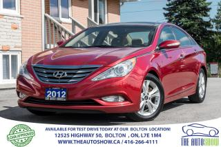 Used 2012 Hyundai Sonata Limited Navigation Gps Rear Cam Leather Sunroof for sale in Bolton, ON