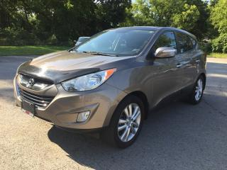 Used 2010 Hyundai Tucson Limited * AWD * Leather * NAV * Rear CAM * Pano Roof * Bluetooth for sale in London, ON
