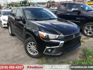 Used 2017 Mitsubishi RVR SE | 1 OWNER | AWD | CAM | HEATED SEATS for sale in London, ON
