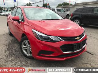 Used 2017 Chevrolet Cruze LT | 1OWNER | BLUETOOTH | CAM for sale in London, ON
