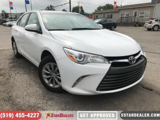 Used 2017 Toyota Camry LE | ONE OWNER | CAM | BLUETOOTH for sale in London, ON
