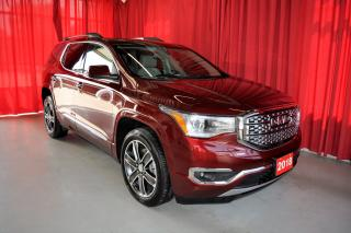 Used 2018 GMC Acadia Denali   AWD   Navigation   Sunroof   DVD for sale in Listowel, ON