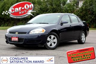 Used 2008 Chevrolet Impala A/C CRUISE ALLOYS ONSTAR for sale in Ottawa, ON