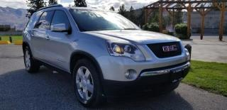 Used 2008 GMC Acadia SLT-1 AWD for sale in West Kelowna, BC