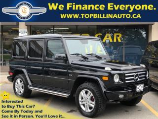 Used 2011 Mercedes-Benz G-Class G550 4MATIC CLEAN CARPROOF for sale in Vaughan, ON