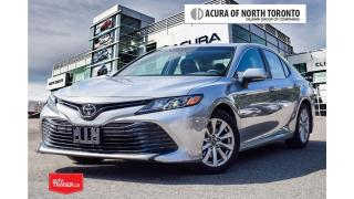 Used 2018 Toyota Camry 4-Door Sedan L 6A Accident Free| Bluetooth| Back-U for sale in Thornhill, ON