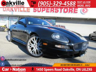 Used 2006 Maserati GranSport 2dr | 396 HP | F1 TRANS | YOU SAFETY, YOU SAVE!! for sale in Oakville, ON