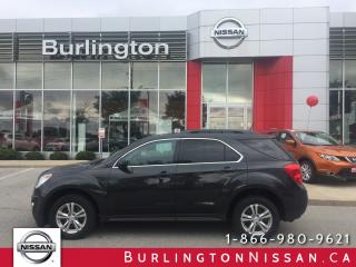 Used 2013 Chevrolet Equinox LT, FWD, ACCIDENT FREE, 1 OWNER for sale in Burlington, ON