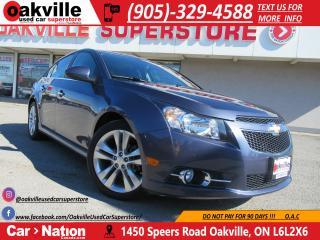 Used 2014 Chevrolet Cruze 2LT | NAV | B/U CAM | SUNROOF | ACCIDENT FREE for sale in Oakville, ON