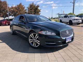 Used 2011 Jaguar XJ XJL*V8*Leather*Sunroof for sale in Mississauga, ON