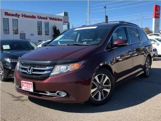 Used 2016 Honda Odyssey Touring - Navigation - Leather - Sunroof for sale in Mississauga, ON