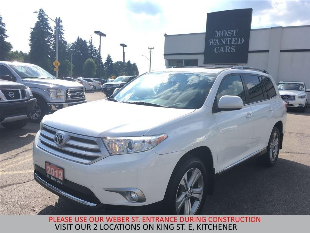 Used 2012 Toyota Highlander V6 | LEATHER | SUNROOF | 4WD for Sale in ...