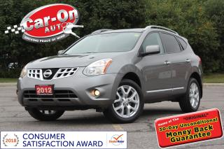 Used 2012 Nissan Rogue SL AWD LEATHER NAV SUNROOF REAR CAM LOADED for sale in Ottawa, ON
