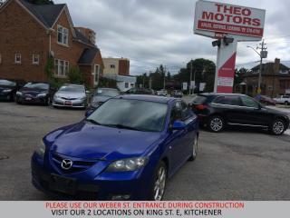 Used 2007 Mazda MAZDA3 GT | YOU CERTIFY, YOU SAVE for sale in Kitchener, ON