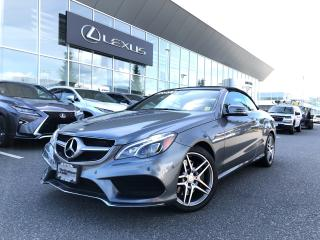 Used 2017 Mercedes-Benz E-Class E400 Cabriolet LOW KM, ONE Owner, NO Claims for sale in North Vancouver, BC