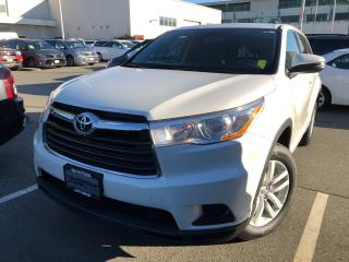 Used 2015 Toyota Highlander LE,AWD,Certified,No Accident for sale in North Vancouver, BC