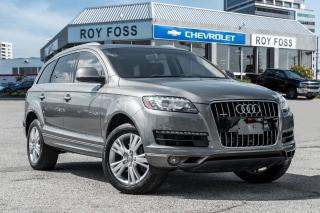 Used 2014 Audi Q7 3.0T Technik AWD Nav Pano Roof for sale in Thornhill, ON