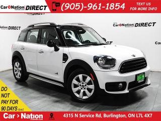 Used 2018 MINI Cooper Countryman Cooper|DUAL SUNROOF|BACK UP CAMERA|PUSH START| for sale in Burlington, ON