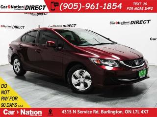 Used 2013 Honda Civic LX (A5)|WE WANT YOUR TRADE|OPEN SUNDAYS| for sale in Burlington, ON