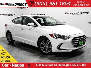 Used 2018 Hyundai Elantra GLS|PUSH START|TOUCH SCREEN|BACK UP CAMERA| for sale in Burlington, ON