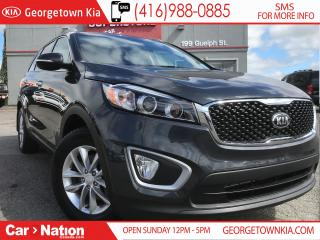 Used 2018 Kia Sorento LX AWD ONE OWNER| BU CAMERA| HTD SEATS| 40,003KMS for sale in Georgetown, ON