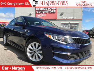 Used 2018 Kia Optima LX+ | PWR HTD SEATS | BU CAM| PUSH START| LIKE NEW for sale in Georgetown, ON