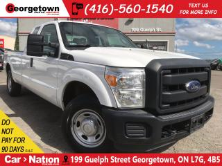 Used 2015 Ford F-250 XL | LEATHER | 6 PASS | 8FT BOX | 6.2L V8 | for sale in Georgetown, ON