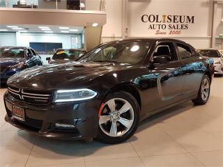 Used 2016 Dodge Charger SXT-NAVIGATION-SUNROOF-BLUETOOTH-ONLY 75KM for sale in York, ON