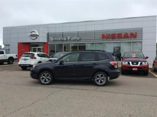 Used 2018 Subaru Forester 2.5i Limited w/ Eyesight CVT for sale in Smiths Falls, ON