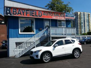 Used 2015 Mazda CX-5 GT AWD **Leather/Roof/Navigation/Reverse Cam** for sale in Barrie, ON