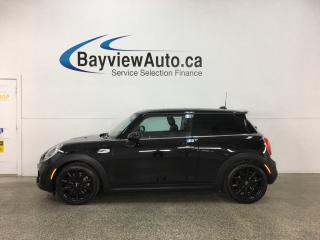 Used 2017 MINI Cooper - TURBO! PANOROOF! HTD SEATS! BLUETOOTH! CRUISE! for sale in Belleville, ON