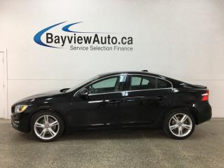 Used 2016 Volvo S60 T5 Special Edition Premier - AWD! SUNROOF! HTD LTHR! BSD! LANE DEPARTURE WARNING! for sale in Belleville, ON