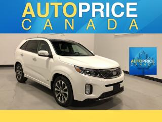 Used 2014 Kia Sorento SX 7PASS|NAVI|PANOROOF|LEATHER for sale in Mississauga, ON