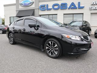 Used 2015 Honda Civic EX Sedan 6-SPEED REVERSE CAMERA. for sale in Ottawa, ON