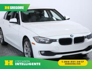 Used 2014 BMW 320 320I X DRIVE XDRIVE for sale in St-Léonard, QC