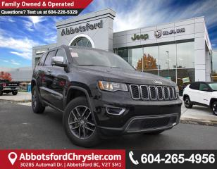 Used 2018 Jeep Grand Cherokee Limited *ACCIDENT FREE* for sale in Abbotsford, BC