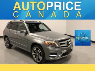 Used 2015 Mercedes-Benz GLK-Class NAVIGATION|PANOROOF|LEATHER for sale in Mississauga, ON