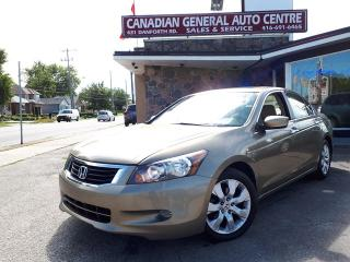 Used 2008 Honda Accord Sdn EX-L for sale in Scarborough, ON