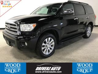 Used 2011 Toyota Sequoia Limited 5.7L V8 ACCIDENT FREE, LEATHER, BLIND SPOT MONITORING for sale in Calgary, AB