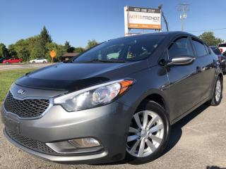 Used 2015 Kia Forte 1.8L LX+ Nice with Heated Seats, Bluetooth, Steering Wheel Controls and Pwr Windows with Keyless Entry! for sale in Kemptville, ON