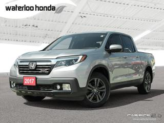 Used 2017 Honda Ridgeline Sport Bluetooth, Back Up Camera, Heated Seats and more! for sale in Waterloo, ON