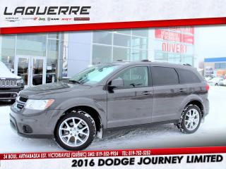 Used 2016 Dodge Journey LTD for sale in Victoriaville, QC