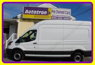 Used 2017 Ford TRANSIT-250 High Roof, Loaded, Back-up Camera for sale in Woodbridge, ON