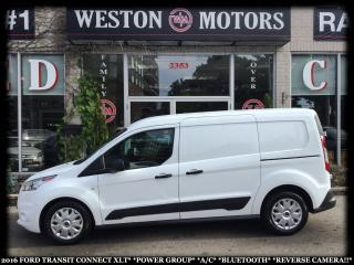 Used 2016 Ford Transit Connect XLT*POWER GROUP*A/C*BLUETOOTH*REVERSE CAM* for sale in Toronto, ON