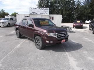 Used 2011 Honda Ridgeline AWD RTL for sale in Elmvale, ON