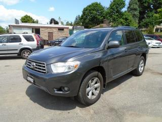 Used 2010 Toyota Highlander SE 7 passenger for sale in King City, ON